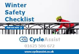 winter safety cycling guide