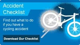 cycling accident checklist